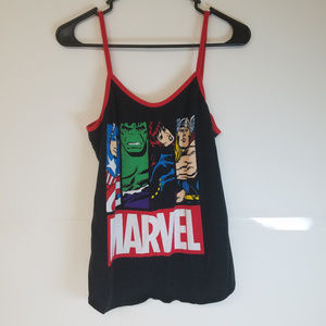 Marvel Comics Tank Top Size XL